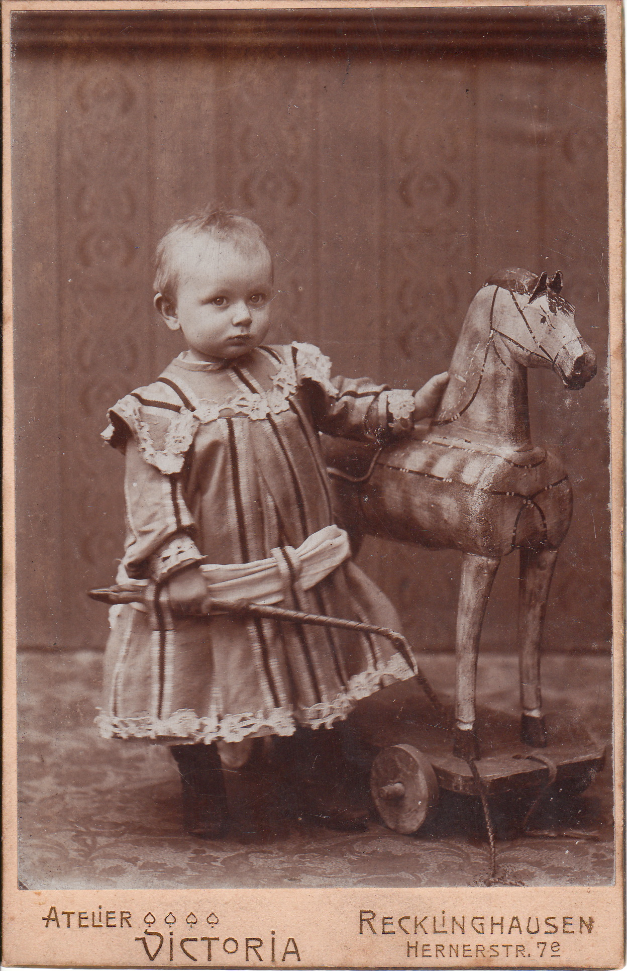 Wooden Horse The Cabinet Card Gallery