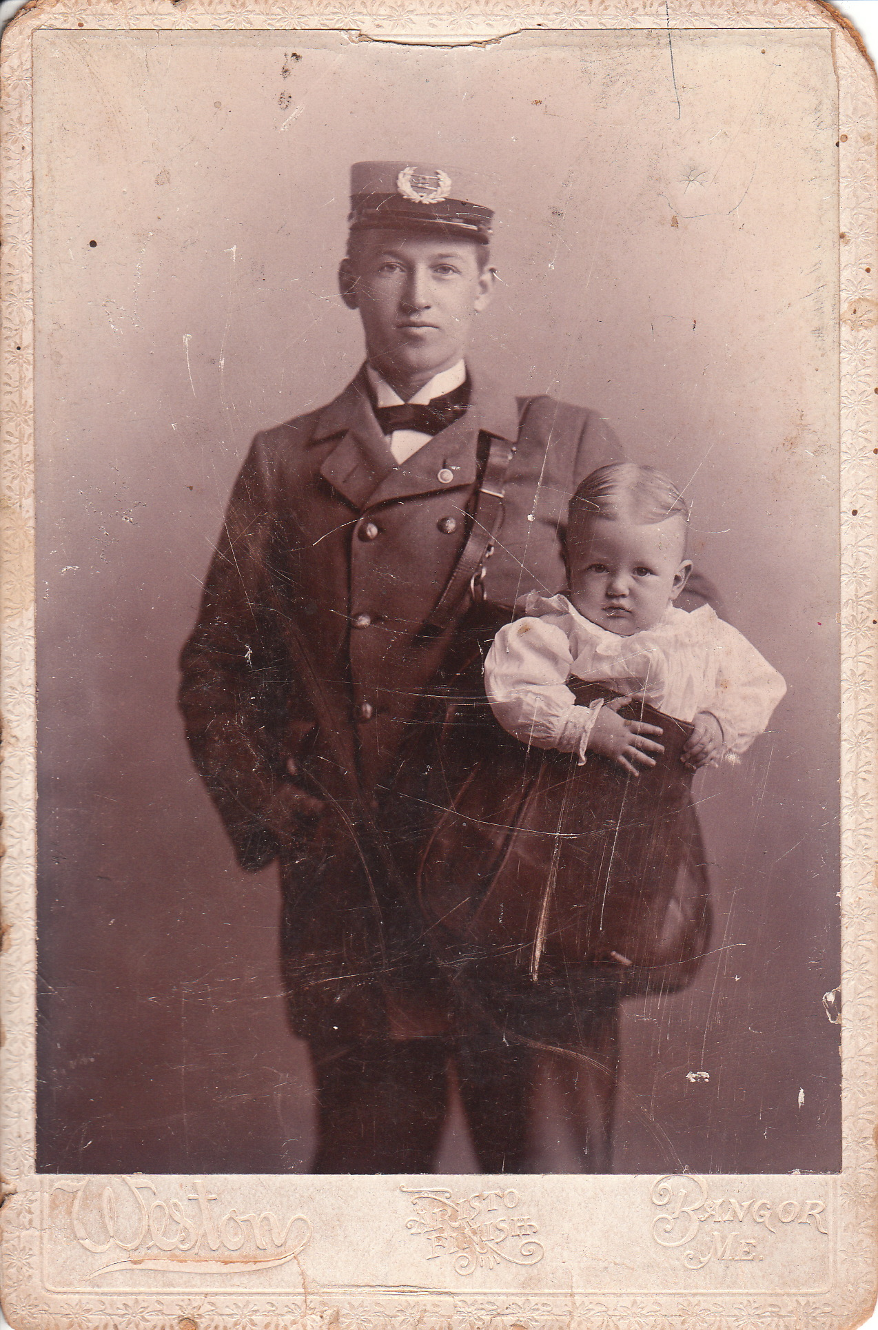 Mailman   THE CABINET CARD GALLERY
