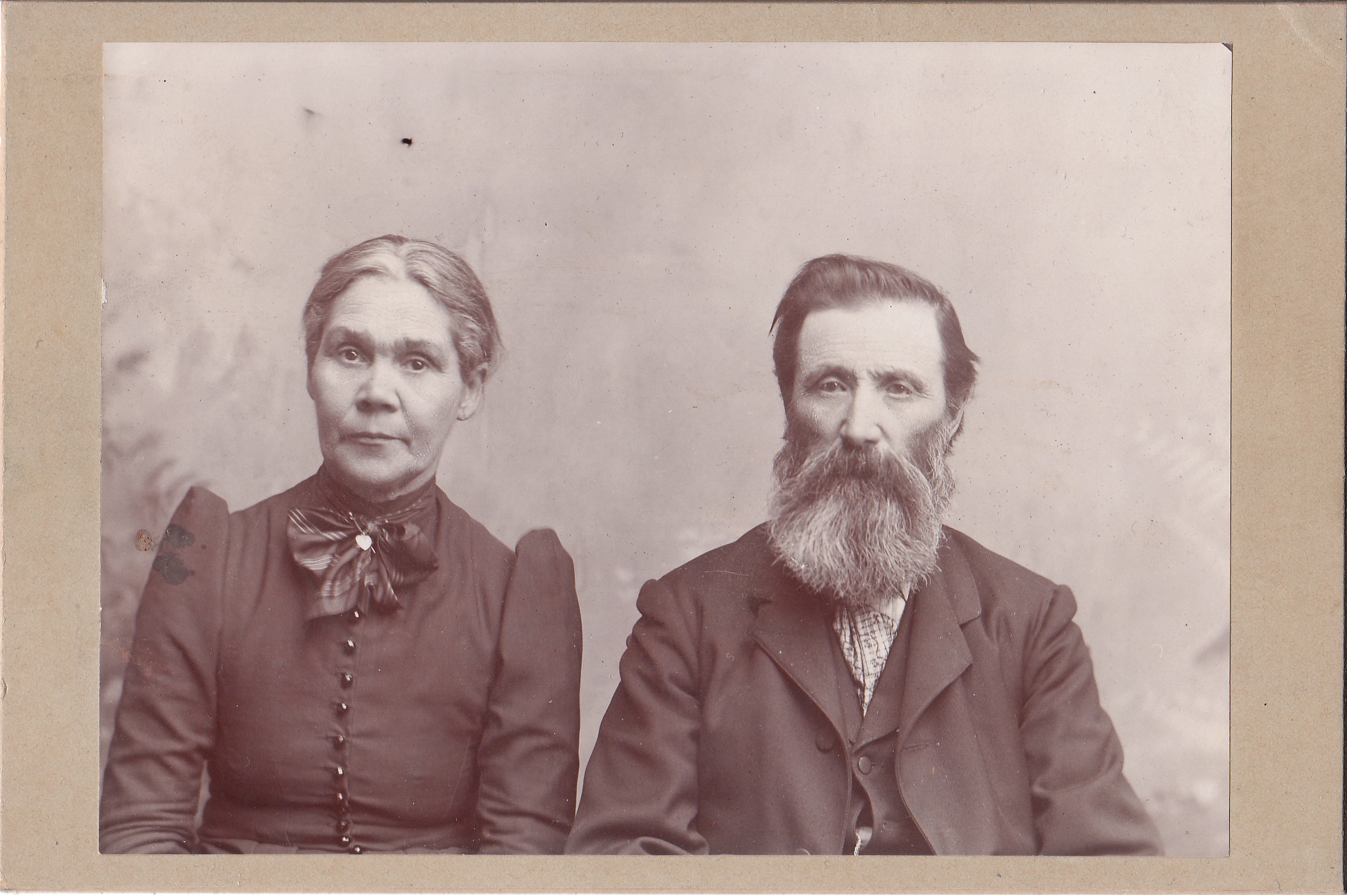 Image of: White Photography Portrait Of An Unknown Old Couple In An Unknown Location The Cabinet Card Gallery Portrait Of An Unknown Old Couple In An Unknown Location The