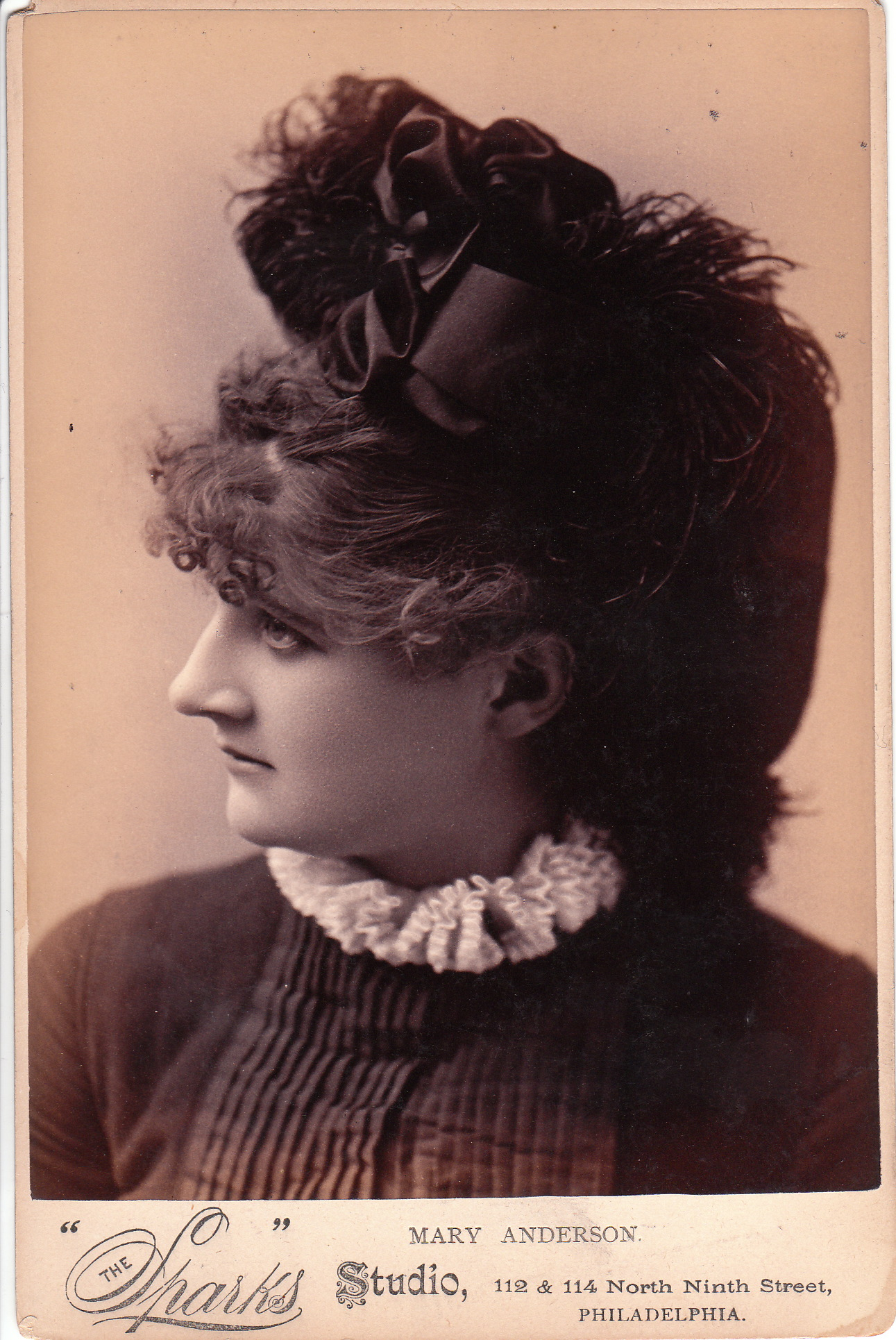 photographer van der weyde the cabinet card gallery