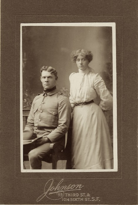 officer and lady