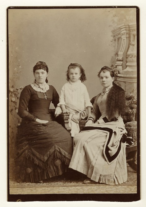 three ladies