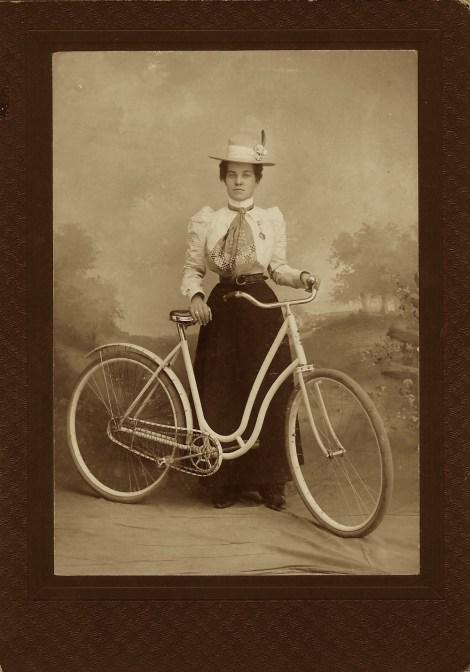 lady biker 1