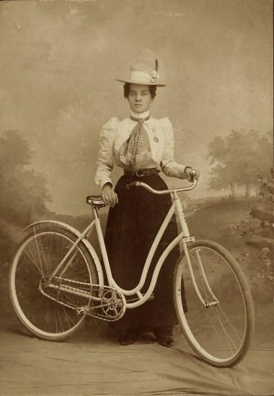 lady biker 2