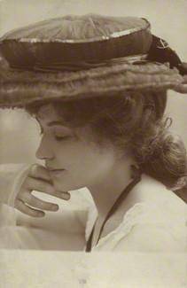 by Rita Martin, sepia-toned matte postcard print, 1900s