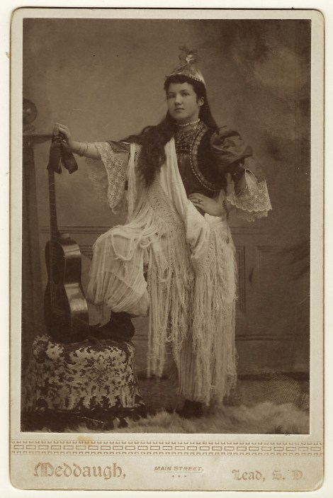 lady in costume