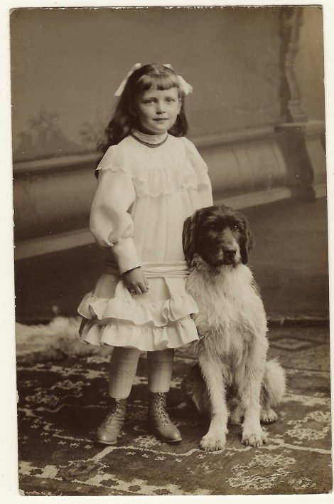 girl-and-dog