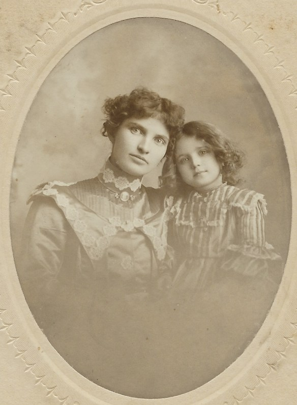 Portrait Of A Beautiful Mother And Daughter In Bemidji