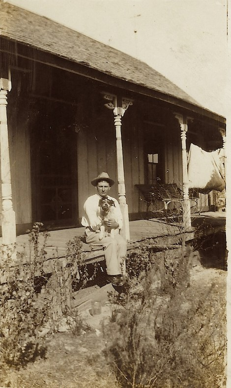 man on porch 1