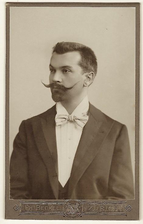 imposing mustache